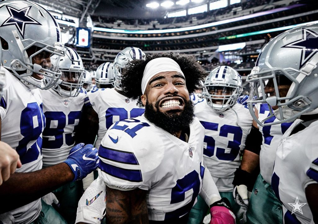 Zeke after a new deal is finalized!